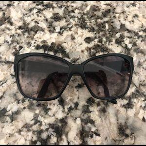 VERSACE Sunglasses Black Frames Oversized Large
